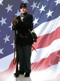 De Militair van de Unie stock afbeeldingen