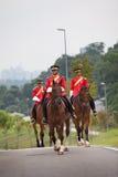 De Militair van het paard van Maleisië Stock Afbeelding