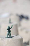 De Militair van het stuk speelgoed Stock Afbeelding