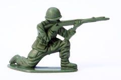 De Militair van het stuk speelgoed Stock Fotografie