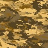 De militaire achtergrond van de camouflage Royalty-vrije Stock Afbeelding