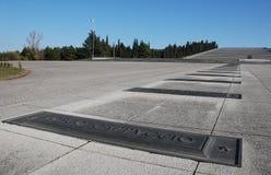 De Militaire Begraafplaats van Redipuglia Stock Foto