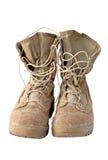 De militaire Laarzen van het Leger stock foto