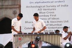 De militaire Musici creëren nieuwe muziekharmonie Royalty-vrije Stock Fotografie