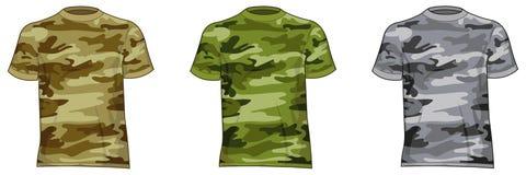 De militaire overhemden van mensen Royalty-vrije Stock Foto's