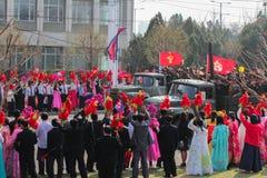 De Militaire Parade van Noord-Korea royalty-vrije stock afbeelding