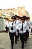 De militaire school van kadettennovocherkassk Suvorov Royalty-vrije Stock Foto's