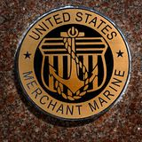 De Militaire Symbolen van de V.S. voor van de de Dienstenmarine van Verenigde Staten de Marinelucht royalty-vrije stock afbeelding