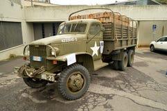 De Militaire vrachtwagen van de V.S. Royalty-vrije Stock Foto