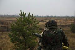 De militairen Royalty-vrije Stock Fotografie