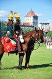 De militairen van de cavalerie Stock Fotografie