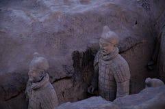 De militairen van de keizer Stock Foto