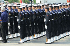 De militairen van de marine Royalty-vrije Stock Foto's