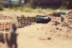 De Militairen van het stuk speelgoed royalty-vrije stock foto