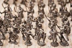 De militairen van het stuk speelgoed Stock Afbeelding
