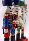 De Militairen van het stuk speelgoed Stock Afbeeldingen
