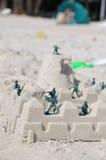 De Militairen van het stuk speelgoed royalty-vrije stock fotografie