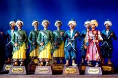 De militairen van het stuk speelgoed Stock Foto