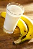 De milkshake van de banaan Stock Afbeelding