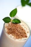 De milkshake van de chocolade Royalty-vrije Stock Foto