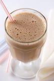 De milkshake van de karamel royalty-vrije stock afbeeldingen