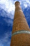 De Minaret Oezbekistan van Kalyan Stock Fotografie