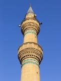 De minaret van de moskee Royalty-vrije Stock Afbeeldingen