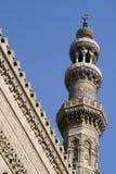 De Minaret van de moskee - Islamitische Architectuur Stock Fotografie