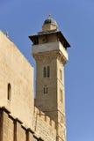 De minaret van Hebron. royalty-vrije stock afbeeldingen