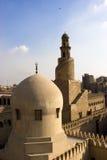 De minaret van Ibn Tulun Stock Fotografie