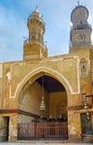 De minaretten van Kaïro Stock Afbeelding