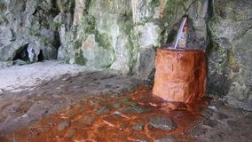 De mineraalwaterlente stock video