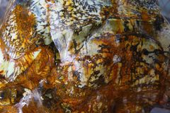 De minerale steen van de jade Royalty-vrije Stock Foto