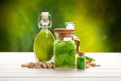 De mineralen van Aromatherapy royalty-vrije stock foto's