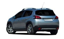 De mini achtermening van SUV, oversteekplaats, auto Stock Foto's