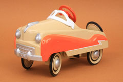 De miniatuur Auto van het Pedaal van de Replica Stock Foto's