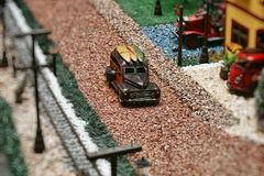 De miniatuur van de auto royalty-vrije stock afbeelding