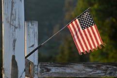De miniatuur Vlag van de V.S. stock foto's