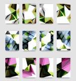 De minimale vector behandelt achtergrondreeks Royalty-vrije Stock Foto