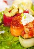 De MiniReeks van de Sushi van Gunkan Royalty-vrije Stock Fotografie