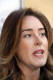 DE MINISTER VAN DE REPUBLIEK VAN ITALIAANSE MARIA ELENA BOSCHI, Stock Fotografie