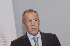De MINISTER van Lavrov_FOREIN van Sergey royalty-vrije stock foto