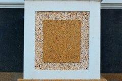 De minitextuur van de steenmuur Stock Foto