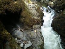 De miniwaterval van de Lydfordkloof Royalty-vrije Stock Fotografie