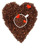 De minnaar van de koffie Stock Afbeelding