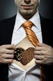 De minnaar van de koffie Royalty-vrije Stock Afbeelding