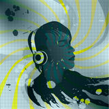 De minnaar van de muziek vector illustratie