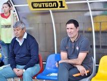_2 de Mircea Lucescu d'entraîneur Image libre de droits
