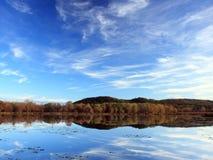 De Mississippi in de staat van Minnesota Royalty-vrije Stock Afbeeldingen