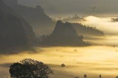 De mist atTam Sakern nanThailand Stock Fotografie
